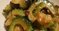 ナスとゴーヤの味噌炒め by ツンツン48 [クックパッド] 簡単おいしいみんなのレシピが272万品