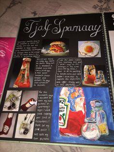 Textiles Sketchbook, Gcse Art Sketchbook, Sketchbook Ideas, A Level Art Sketchbook Layout, Sketchbook Inspiration, Artist Research Page, Art Alevel, Photography Sketchbook, Food Artists