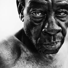 Black and White Portrait Photography by Lee Jeffries