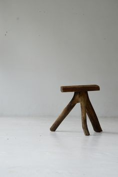 demode furniture. wooden stool
