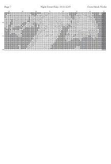 Cross Stitch Works: Night Forest Fairy 101111239 Free Cross Stitch Pattern Night Forest, Forest Fairy, Cross Stitch Angels, Faeries, Cross Stitching, Cross Stitch Patterns, Free, Woodland Fairy, Fairies