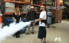 "Jarrod Schulz uses smoke gun. Read ""Nerds of the Round Table"" 5th season recap: http://onlinestorageauctions.com/storage-wars-jarrod-smokes-brandi/"
