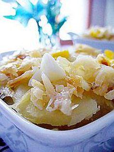Try These Serbian Fasting Recipes: Serbian-Croatian Salt Cod with Potatoes Recipe - Bakalar s Krumpirom