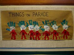 Dr. Seuss Handprint Things