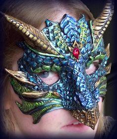 Past Masks - Red Robin Arts
