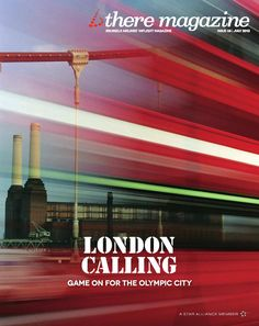 Nice magazine cover ~British There Magazine