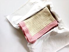 Crochet Baby Blanket PATTERN  Wrapped in Love by LittleMonkeyShop