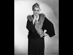 Sophie Tucker - I Know That My Baby Is Cheatin' On Me, 1928 - YouTube