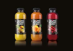 JuiceBurst on Packaging of the World - Creative Package Design Gallery