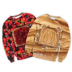 Peanut Butter Sweater + Jam Sweater Combo
