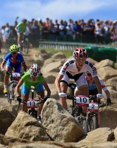 Some of the images from the women's mountain bike at Hadleigh Farm #Olympics2012 #LondonOlympics