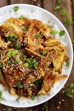 slow cooker lunch recipes honey teriyaki chicken