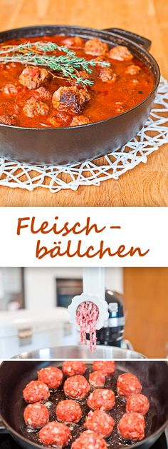 fleischb llchen rezept rezepte. Black Bedroom Furniture Sets. Home Design Ideas