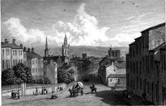 1834 Newcastle from Westgate Hill, Newcastle