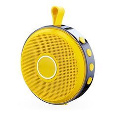 WinBridge T1 Outdoor Portable Bluetooth Loudspeaker Box with Mircophone Hands free Call Yellow