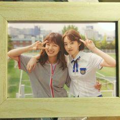 Park Se Wan and Kim Se Jeong in School 2017