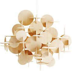 BAU pendant lamp hout van Normann Copenhagen bij Emma b Utrecht winkel en webshop voor scandinavisch design online www.emma-b.nl