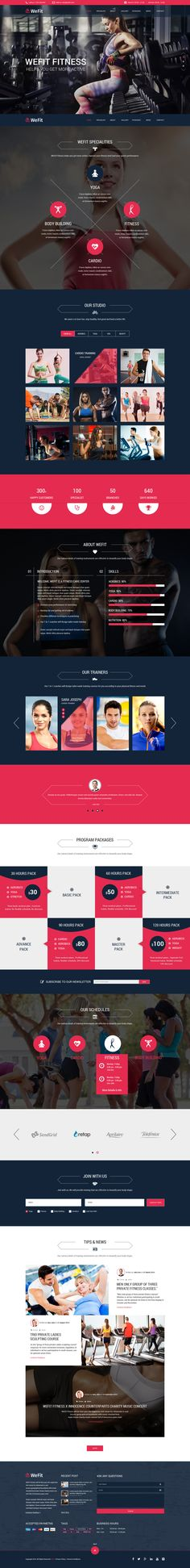 35 Fitness Website Designs Inspirations - Tap the pin if you love super heroes too! Cause guess what? you will LOVE these super hero fitness shirts! Web Layout, Layout Design, Cv Web, Fitness Websites, Sports Website, Fitness Design, Responsive Web Design, Website Design Inspiration, Interface Design