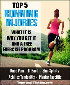 How to treat running injuries on Tone-and-Tighten.com
