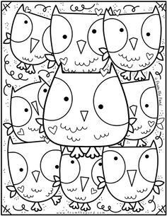 Coloring Club Library — From the Pond Unicorn Coloring Pages, Flower Coloring Pages, Free Coloring Pages, Printable Coloring, Coloring Books, Mandala Coloring, Animal Crafts For Kids, Winter Crafts For Kids, Color Club
