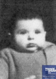 Benjamin Fogiel Benjamin was only 10 months when he was sadly murdered at Auschwitz Birkenau on November Schindler's List, Captain Corellis Mandolin, November 13, Never Again, Child Face, History Photos, Lithuania, Infants, World War Two