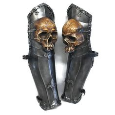 Larp Armour Ominous Skull Legs by WyrmwickCreations on Etsy