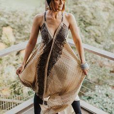 muumuu dress.gold & choc brown.free size.R850#umisaltrock #localzadesign #southafricandesign #ethicalfashion #slowfashion #bohemianstyle #bohemian #fashiondiaries #summerstyle #kaftan #kimono #muumuu #sari #lookbook #fashionista #resortwear #streetstyle #style #fashion@hazecreatives @wendelin_ Slow Fashion, Ethical Fashion, Style Fashion, South African Design, Muumuu, Resort Wear, Kaftan, Bohemian Style, Kimono