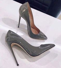 Cheap party shoes, Buy Directly from China Suppliers:ALMUDENA Brand 12 10 Stiletto Heel Pumps Patent Leather Dress Shoes Pointed Toe Thin Heel Designer Wedding Shoes Cute Shoes, Me Too Shoes, Pumps Heels, Stiletto Heels, Pointed Heels, Nude Heels, Heeled Boots, Shoe Boots, Heeled Sandals