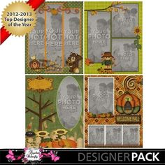 Welcome Fall TemplateP3 8X11