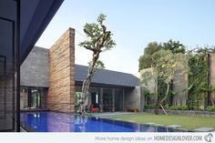 The Renovated Diminished House in South Jakarta Indonesia