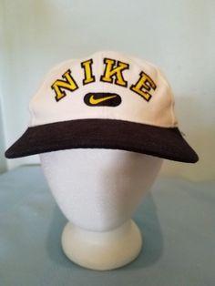 Vintage 90's Nike Cap snap back 100% Cotton Good Shape #Nike