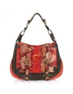 red shoulder bag paletly