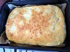 Obyčajný cesnakový posúch (fotorecept) - obrázok 3 Ciabatta, Quiche, Hamburger, Good Food, Food And Drink, Pizza, Cooking Recipes, Sweets, Baking