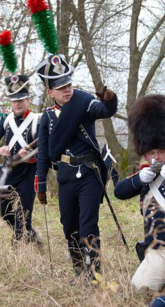 Cacciatori di un rgt. di fanteria leggera francese