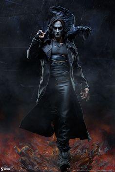 The Crow Premium Format™ Figure | Sideshow Collectibles Brandon Lee, Bruce Lee, Sideshow Collectibles, Movie Collection, Crow, Video Games, Comics, Raven, Videogames