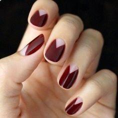 Simple Fashionable Nails #Beauty #Trusper #Tip
