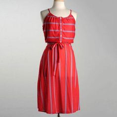 '70s Jersey Knit Sun Dress