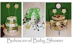 Buhos- Lechuzas- Owl - BABY SHOWER http://antonelladipietro.com.ar/blog/2011/07/babyshower-buhos/