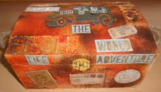 """I added """"CraftyCreations: Altered trunk"""" to an #inlinkz linkup!http://inkythings.blogspot.co.uk/2015/07/altered-trunk.html"""