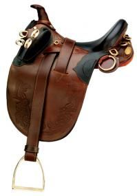 its an australian saddle, but i do miss riding : /