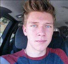 Collins Key! Seriously the most beautiful eyes i have EVER seen!!! <3 #AGT #Americas Got Talent #Keepers #CollinsKey #Tuchas #WizardSwag #Magic #Magician #BeautifulBlueEyes