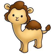 cute camel for hump day Cute Animal Clipart, Cute Cartoon Animals, Cute Clipart, Baby Animals, Cute Animals, Kawaii Drawings, Easy Drawings, Clip Art, Cute Images