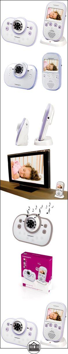 Topcom 4100 - Vigilabebés con cámara digital, color blanco  ✿ Vigilabebés - Seguridad ✿ ▬► Ver oferta: http://comprar.io/goto/B008ATBM0A