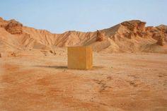 Iman Issa / golden house, Sinai desert, 2003