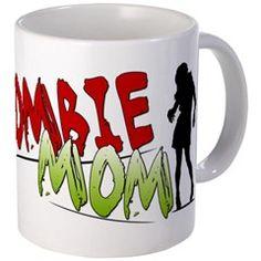 Zombie Mom Mugs