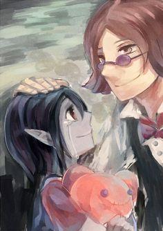 Roi des glaces et Marceline