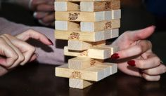 A fun game for the entire family to enjoy, Jenga. Speech Therapy Activities, Montessori Activities, Outdoor Activities, Therapy Games, Autism Activities, Jenga, Letter Flashcards, Speech Delay, Funny Questions