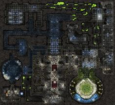 Dundjinni Mapping Software - Forums: [Updated] Theran's Rest - Lower Catacombs Fantasy Battle, Medieval Fantasy, Fantasy City Map, Pathfinder Maps, Dnd Stories, Map Sketch, Rpg Map, Mapping Software, D&d Dungeons And Dragons