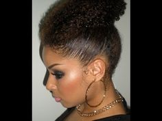 marley braid hair bun - Google Search