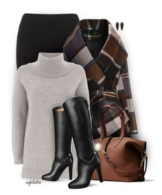 """Oversized Sweater and Leggings"" by angkclaxton ❤ liked on Polyvore featuring Lipsy, Chicwish, Mint Velvet, Coach and Kendra Scott"